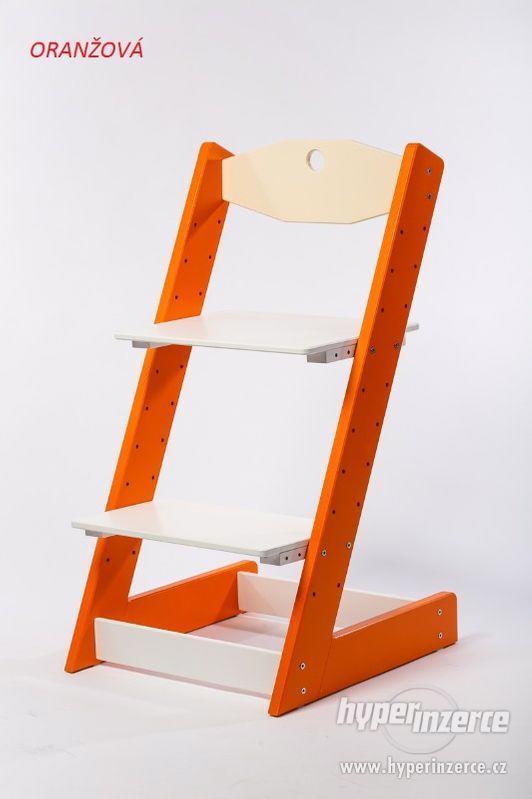 Rostoucí židle ALFA II - různá barevná kombinace - foto 6