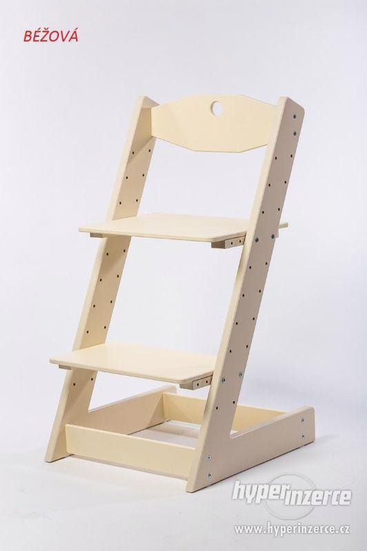 Rostoucí židle ALFA II - různá barevná kombinace - foto 8