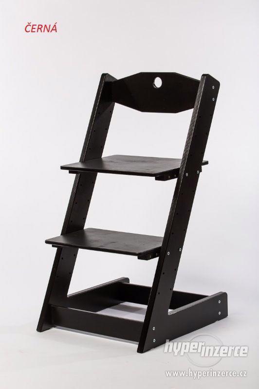 Rostoucí židle ALFA II - různá barevná kombinace - foto 9