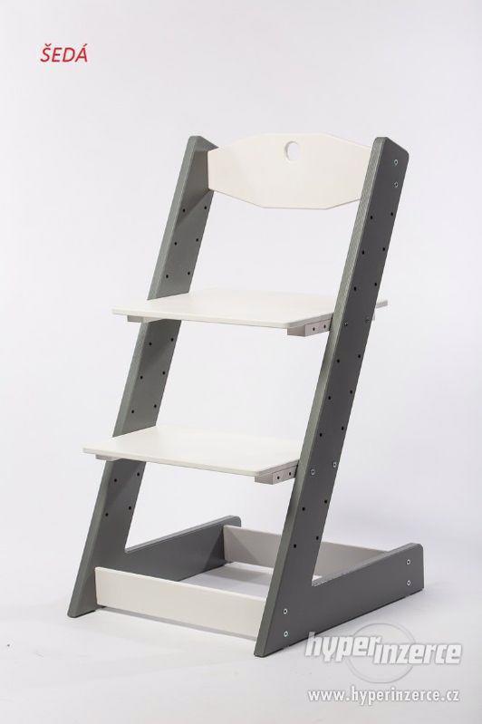 Rostoucí židle ALFA II - různá barevná kombinace - foto 10