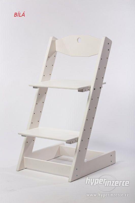Rostoucí židle ALFA II - různá barevná kombinace - foto 11