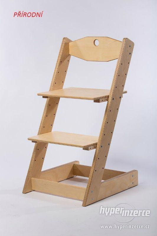 Rostoucí židle ALFA II - různá barevná kombinace - foto 12