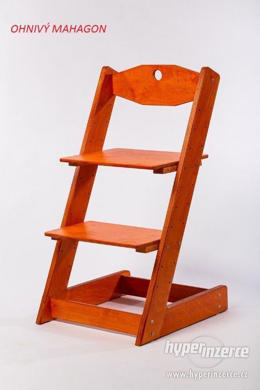 Rostoucí židle ALFA II - různá barevná kombinace - foto 13