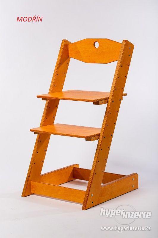 Rostoucí židle ALFA II - různá barevná kombinace - foto 14