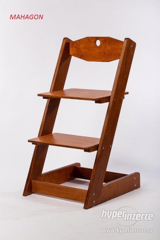 Rostoucí židle ALFA II - různá barevná kombinace - foto 15