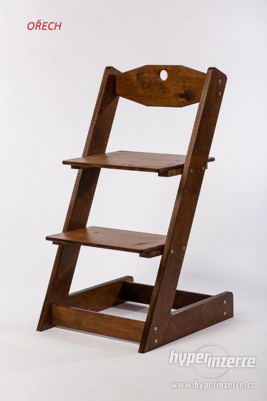Rostoucí židle ALFA II - různá barevná kombinace - foto 16
