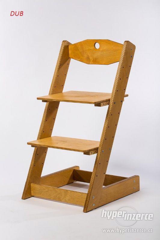Rostoucí židle ALFA II - různá barevná kombinace - foto 17