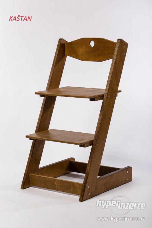 Rostoucí židle ALFA II - různá barevná kombinace - foto 18