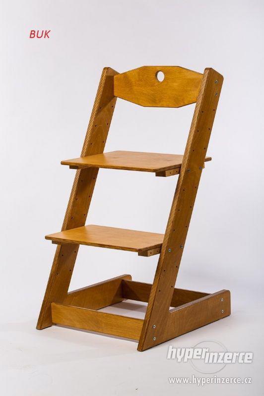 Rostoucí židle ALFA II - různá barevná kombinace - foto 19