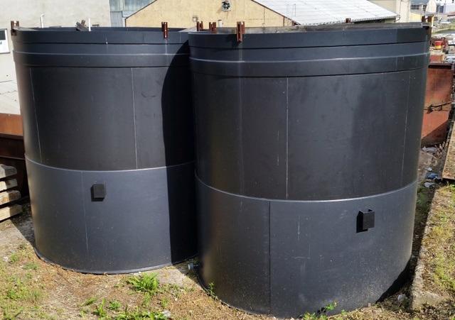 Plastová nádrž PE 3000x3370 - 23,82m3 (11530.)