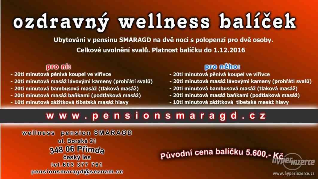wellness pobyt - ozdravný balíček uvolnění svalů 180 minut