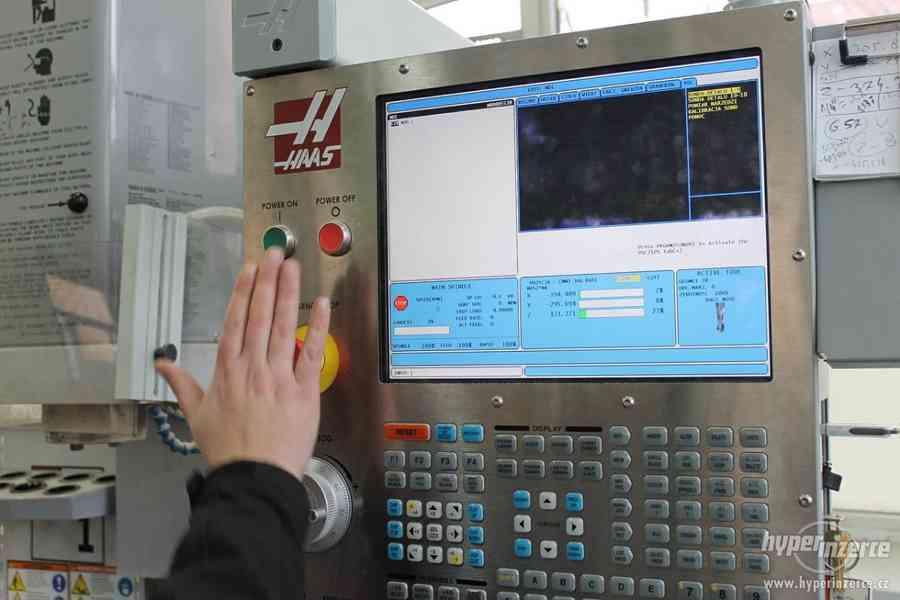 Obsluha CNC obráběcích strojů, kurz akreditovaný MŠMT