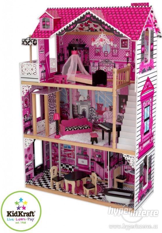 Domeček pro panenky dřevěný KidKraft