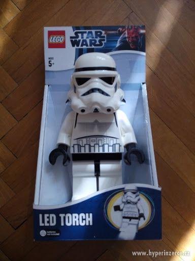 LEGO STAR WARS LED STORMTROOPER NOVÝ!!!