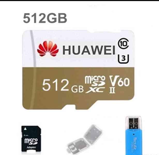 Paměťová karta Micro SDXC 512 GB+ adaptéry