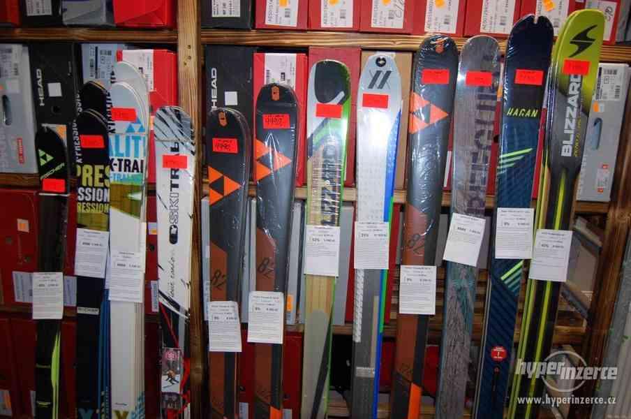 VÝPRODEJ NOVÉ skialp lyže