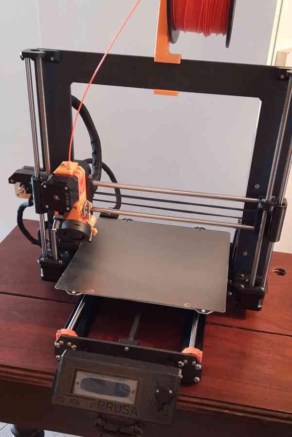 Průša i3 MK3 3d tiskárna - NOVÁ - KOPIE - foto 1