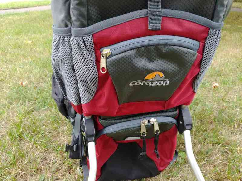 Krosna (nosítko) Corazon Panda k zapůjčení - červená - foto 4