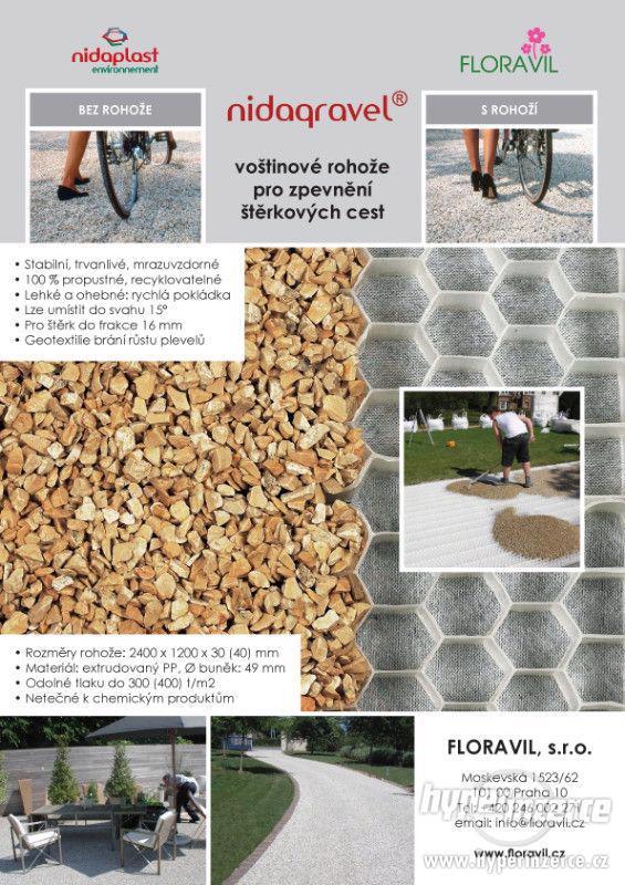Štěrkové rohože NIDAGRAVEL®, štěrková stabilizace - foto 4