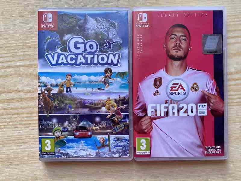 Nintendo switch hra FIFA 20 Legacy edition + Go Vacation