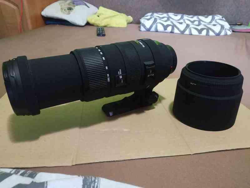 Objektiv SIGMA 120 - 400mm, APO DG HSM pro MINOLTA/SONY A - foto 4