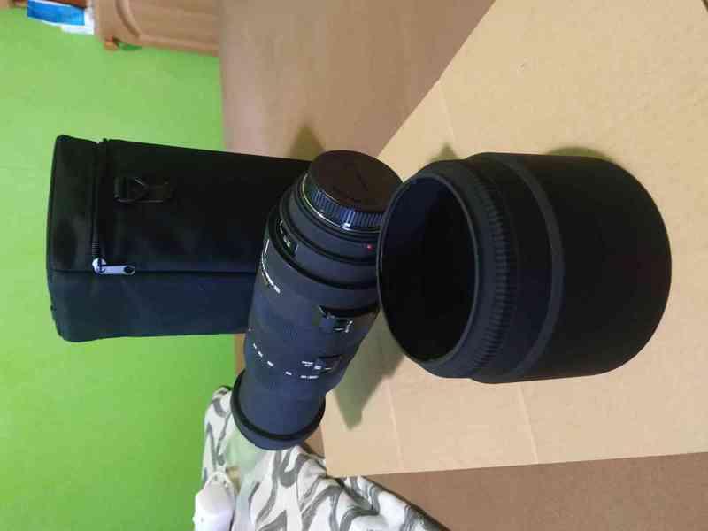 Objektiv SIGMA 120 - 400mm, APO DG HSM pro MINOLTA/SONY A - foto 2