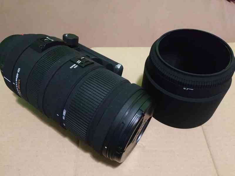 Objektiv SIGMA 120 - 400mm, APO DG HSM pro MINOLTA/SONY A - foto 6