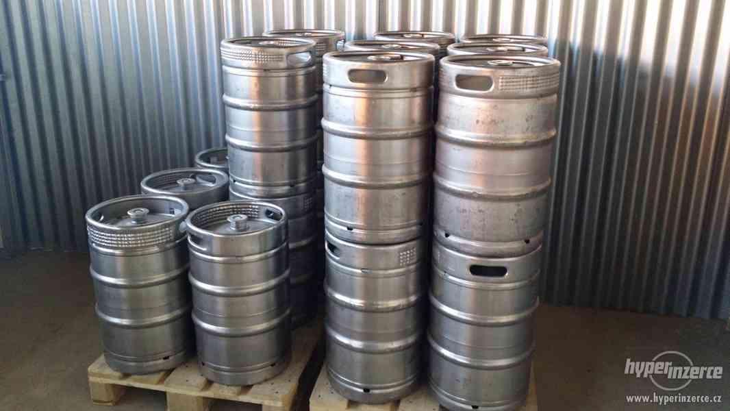 Keg pivní sudy po revitalizaci