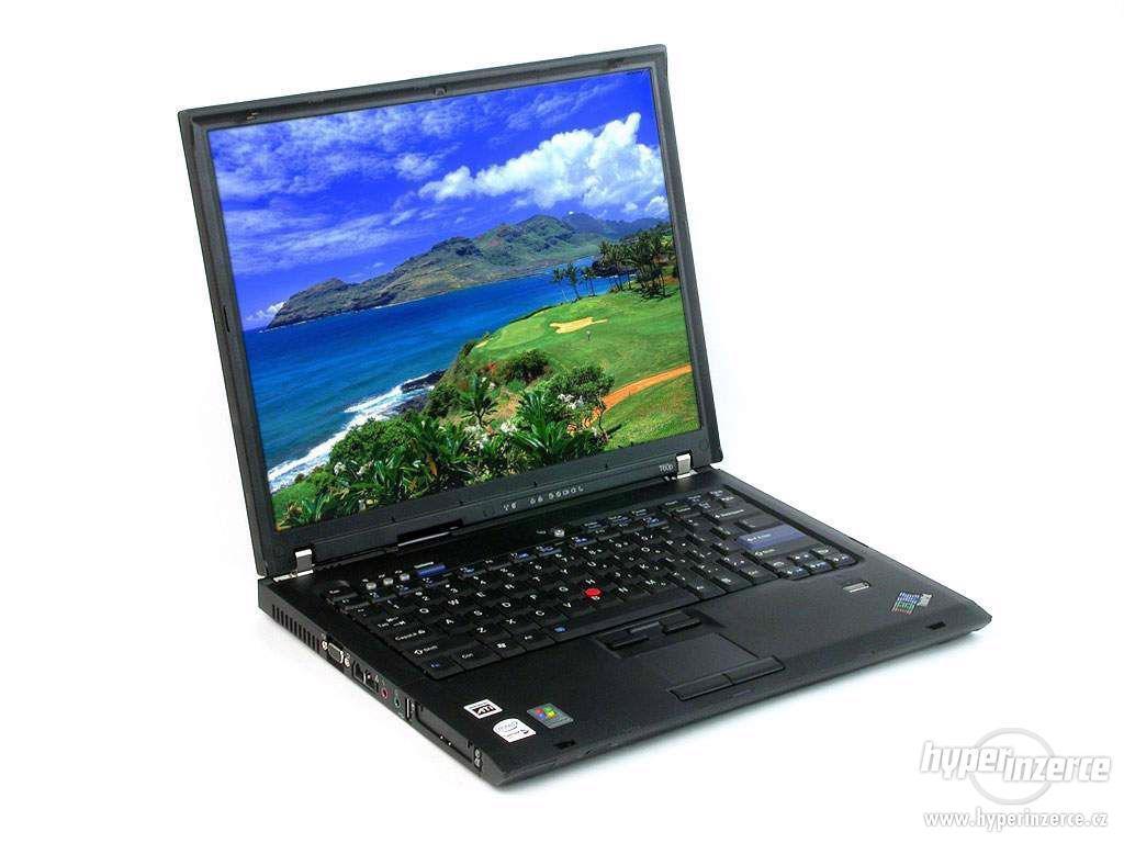 Notebook Lenovo IBM T60 dvoujádro s dokovací stanicí - foto 1