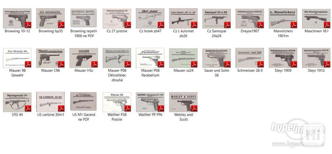 Příručka ke zbrani P08, vz 24, P38, C96, PP/PPk i v PDF - foto 2