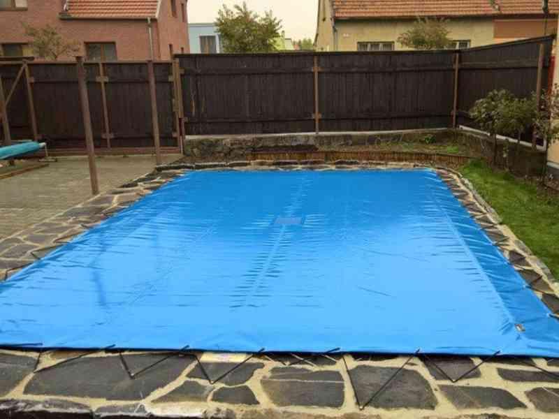 Vysocepevnostní krycí plachta na bazén