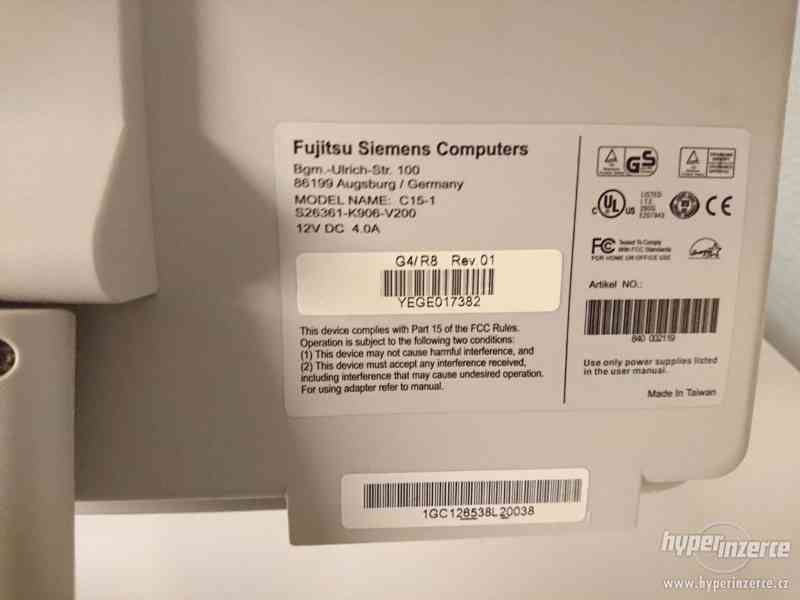 LCD monitor Fujitsu Siemens