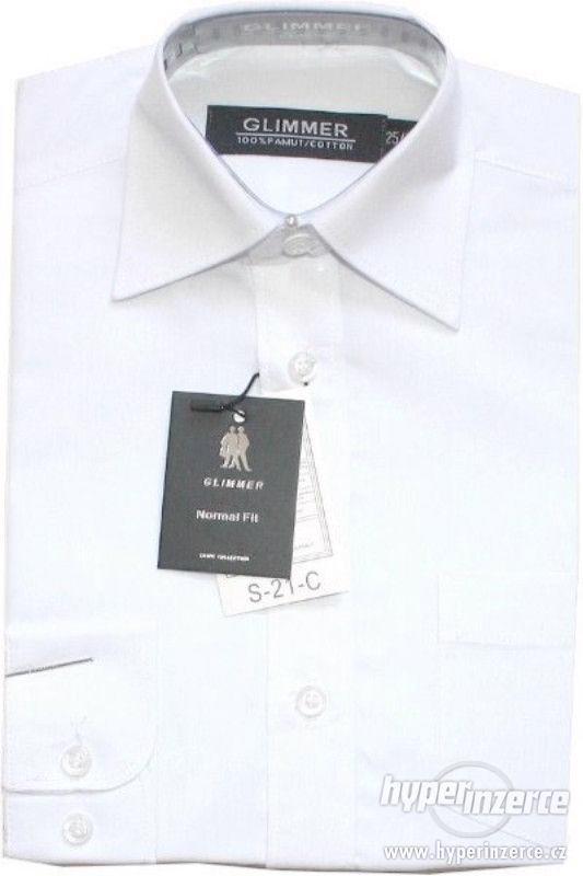 Chlapecká dětská bílá košile-sváteční košile - foto 1