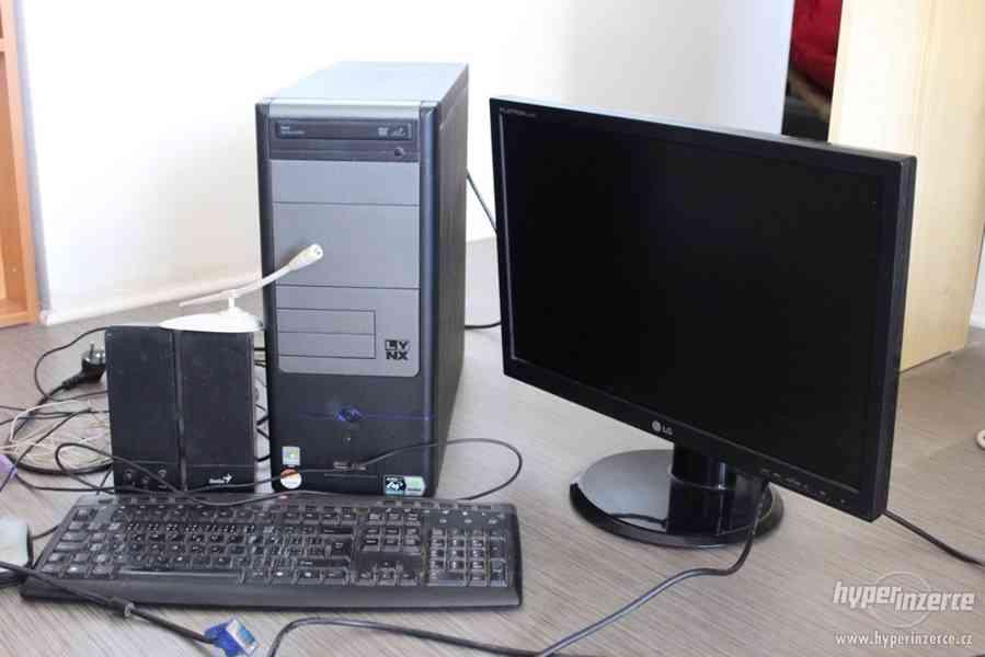 """Stolní PC sestava - počítač, 22"""" monitor - foto 7"""