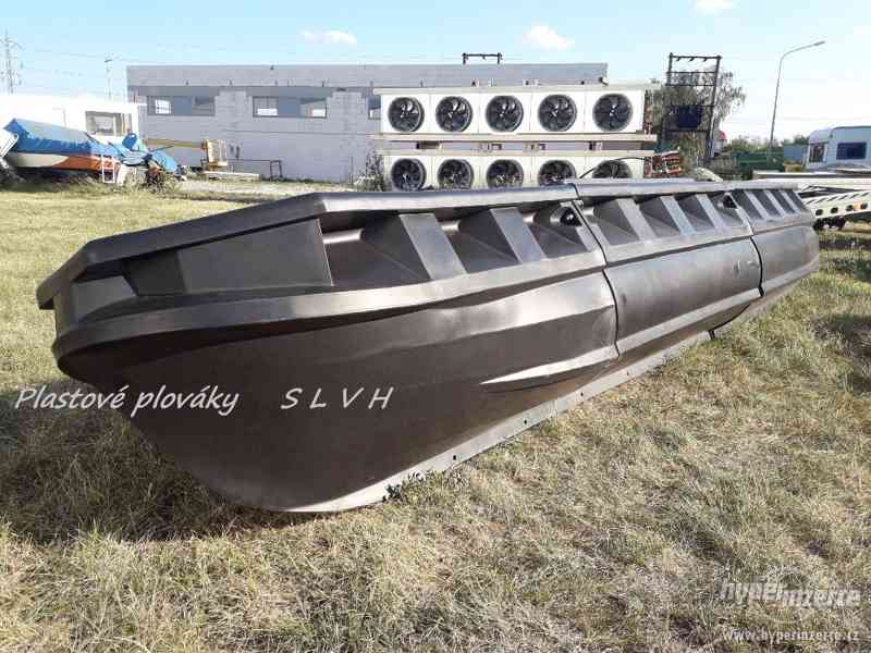 Plováky pro stavbu lodí katamaránu hausbótu  SLVH