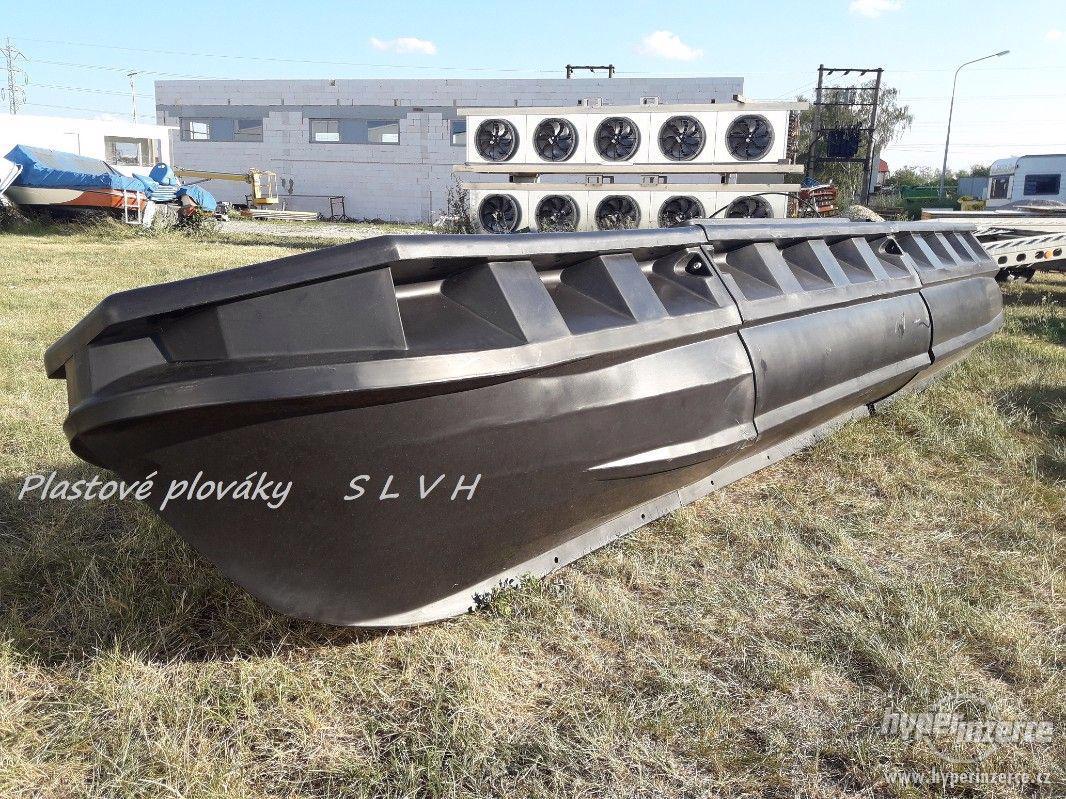 Plováky pro stavbu lodí katamaránu hausbótu  SLVH - foto 1