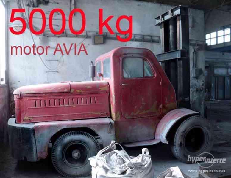 VZV Pogruščik 5 tun, neuveřitelná RUSKÁ SÍLA, Avia motor - foto 3