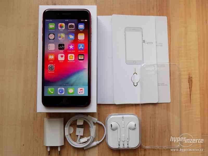 APPLE iPhone 8 PLUS 64GB Red - ZÁRUKA - TOP STAV