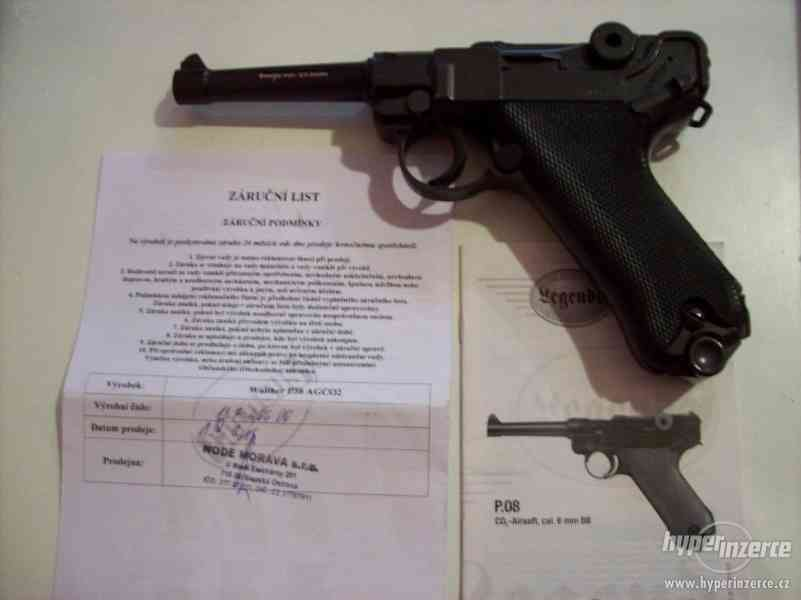 airsoft pistole Walther p38 AgCo2