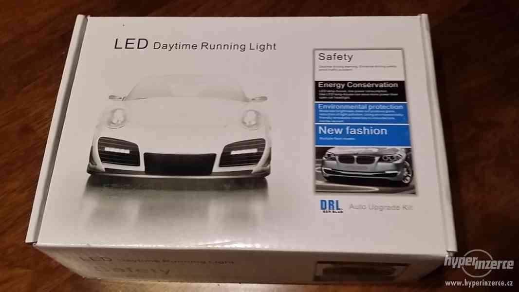 Světla pro denní svícení, DRL 4LED diody, kulatá - homolog. - foto 11