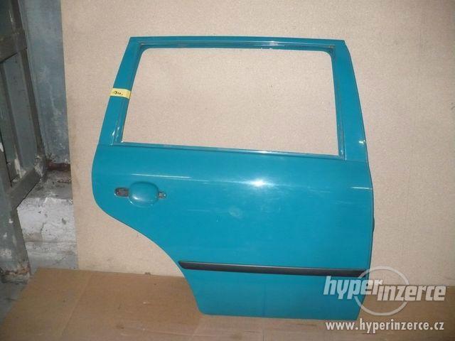 PZ dveře zelená 5281 Octavia 1 combi