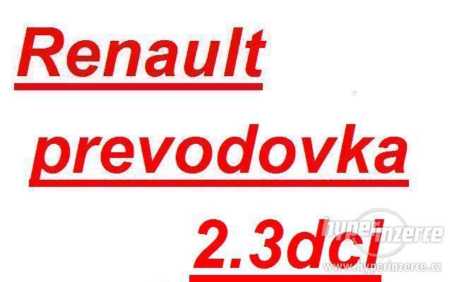 Renault prevodovka oprava opravy prevodovky master trafic vi