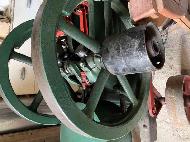 Americky Ingeco green stabilak  USA stabilni motor 4 HP zele - foto 7