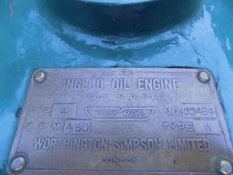 Americky Ingeco green stabilak  USA stabilni motor 4 HP zele - foto 6