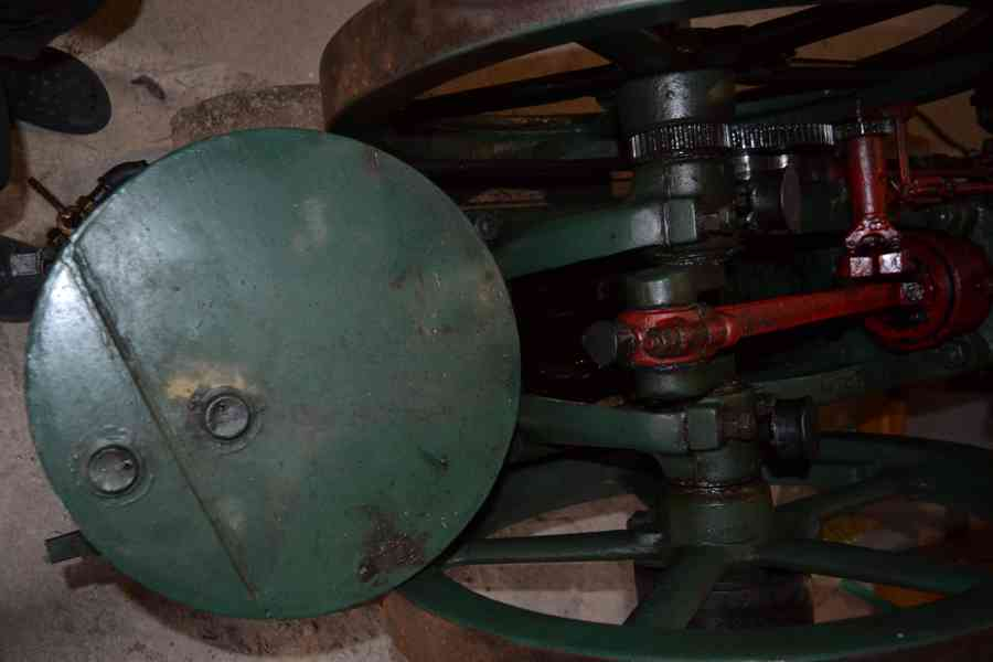Americky Ingeco green stabilak  USA stabilni motor 4 HP zele - foto 2