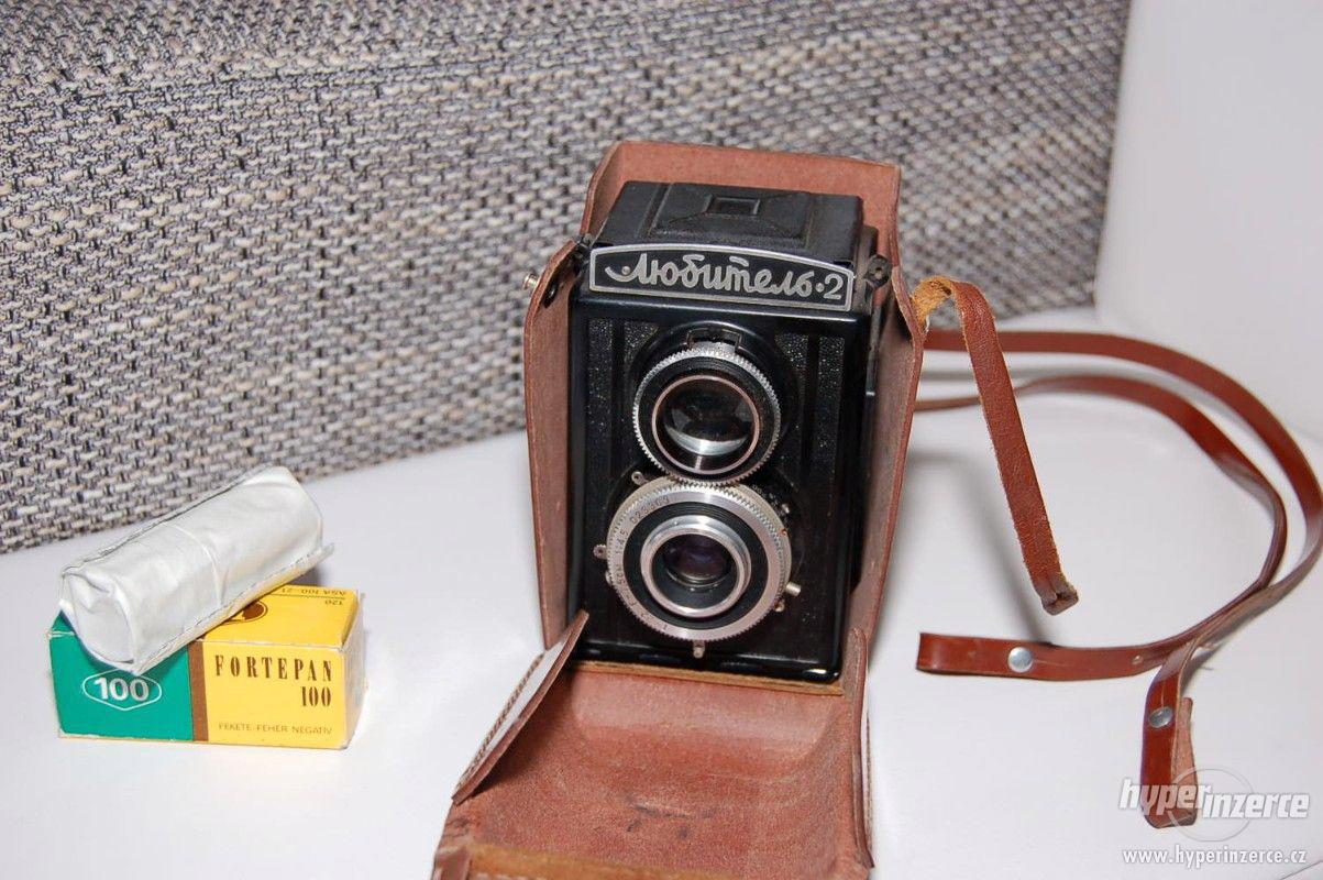 "Starý ruský fotoaparát. ,,Ljubimel 2"". + pouzdro + film - foto 1"