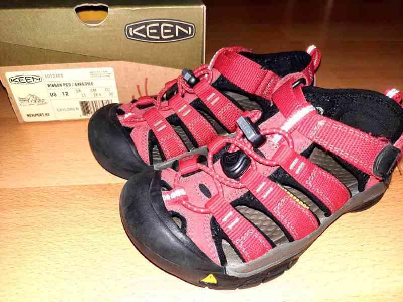 Dětské sandály Keen Newport H2 - foto 5