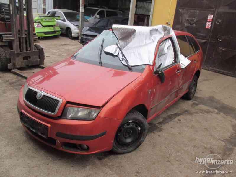 Prodám náhradní díly z Škoda Fábia  combi 2006 1,4 tdí