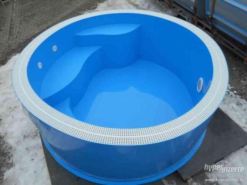 Kruhový přelivový vířivý bazén FLORIDA - foto 3