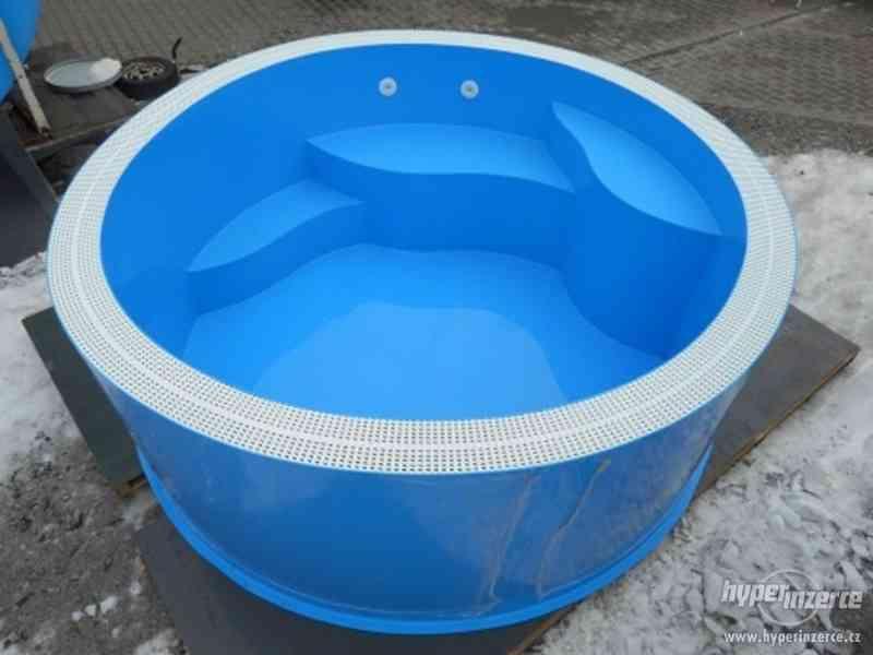 Kruhový přelivový vířivý bazén FLORIDA - foto 4